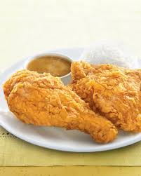 2pcs Golden Chicken with rice x2