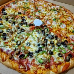 """18"""" New York-Style Pizza"""