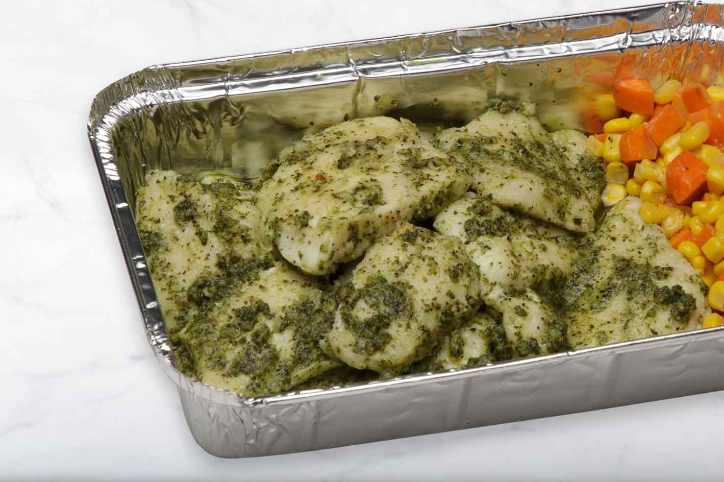Herb-Crusted Fillet of Fish-Family
