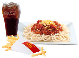 McSpaghetti with Fries Large Meal