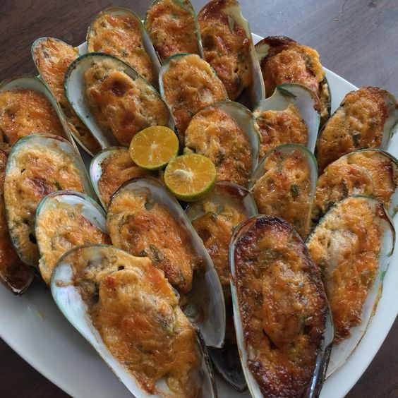 Baked New Zealand Mussels-Family
