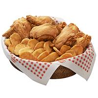Family pack (12pcs chicken w/mojos)