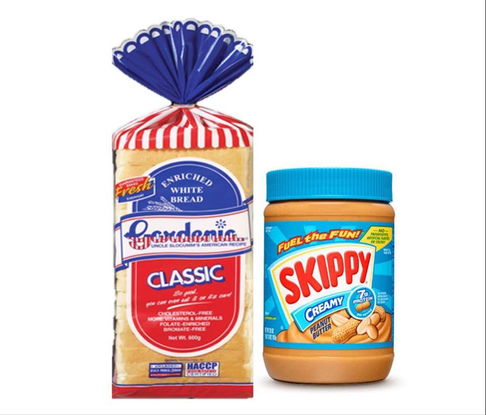 Gardenia Bread/Skippy Creamy Peanut Butter-462g