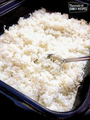 Steamed Rice Platter (8-10)