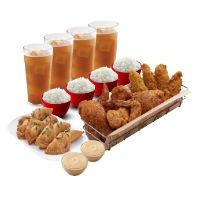 Bonchon Chicken, Fish, Rice & Sides