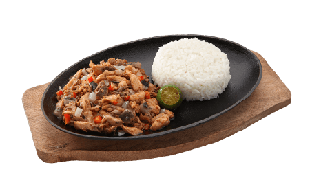 Bangus Sisig with Rice (solo) x2