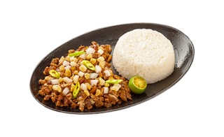 Pork Sisig with Rice (solo) x2