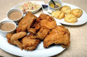 Southern-stylefried chicken by Racks
