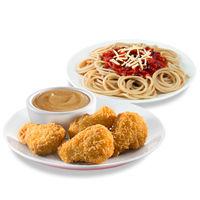 (4pcs Nuggets Meal + Spaghetti) x2
