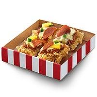 KFC Chizza (chicken pizza)