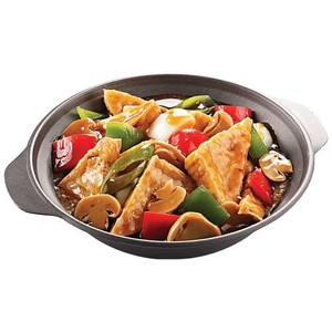 Braised Tofu with mushrooms (serves 2-3)