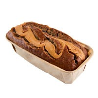 Peanut Butter Dark Chocolate Banana Bread