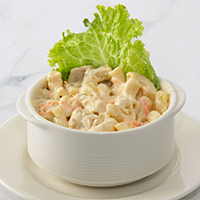 Pineapple Macaroni Salad (serves 2-3)