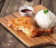 Roast Chicken Quarter by Kuya J