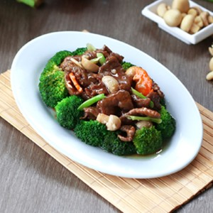 Sautéed Beef with Broccoli