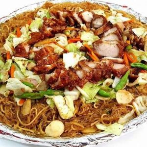 Soy Binondo Pancit with Lechon Macau Toppings-Large