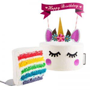 Unicorn Rainbow Cake by Boulangerie22