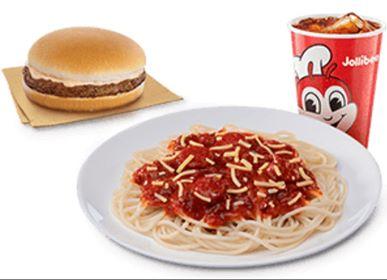 Jolly Spaghetti w/cheesy Yumburger