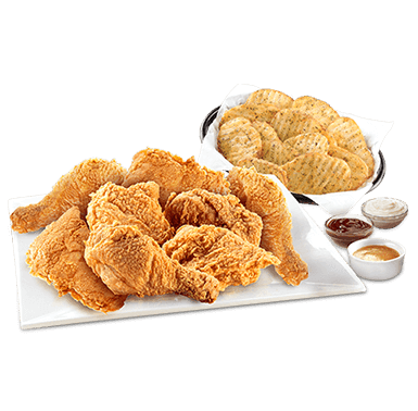 8pcs chicken & Waves