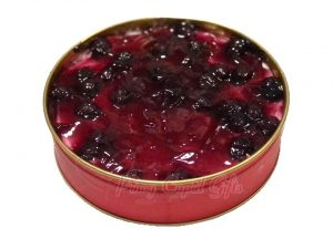 Blueberry cheesecake round (6
