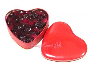 Heart Blueberry Cheesecake