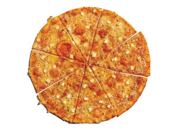 Yellow Cab #4 Cheese Thin Crust Pizza