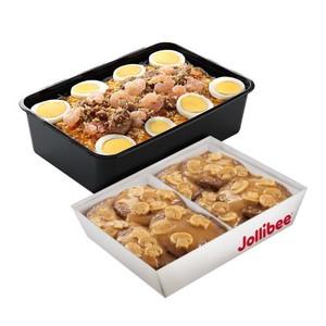 Jollibee-Burger Steak & Palabok