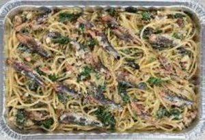 Amici Garlic Italian Sardine Spaghetti
