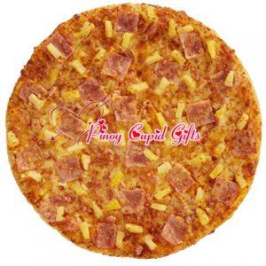Yellow Cab Hawaiian Thin Crust Pizza