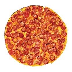 Yellow Cab Pepperoni-Thin Crust Pizza