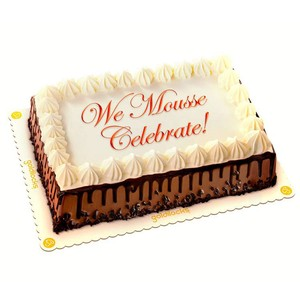 Goldilocks Chocolate Mousse 8x12 Cake