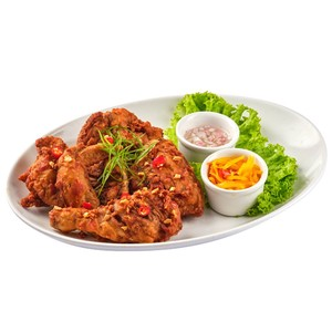Spicy Fried Garlic Chicken by Gerry's Grill
