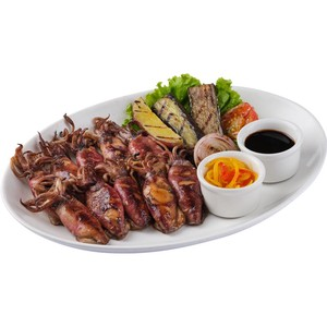 Inahaw na Baby Pusit by Gerry's Grill