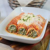 Spinach Cannelloni Pasta by Amici