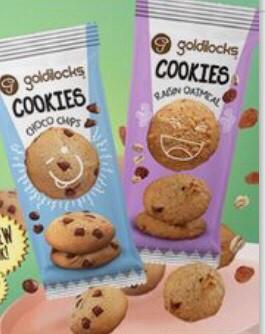 Oatmeal Cookies by Goldilocks