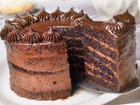 Max's Malagos Chocolate Cake