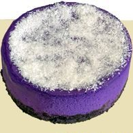 Ube Coco Cheesecake by Tous Les Jours