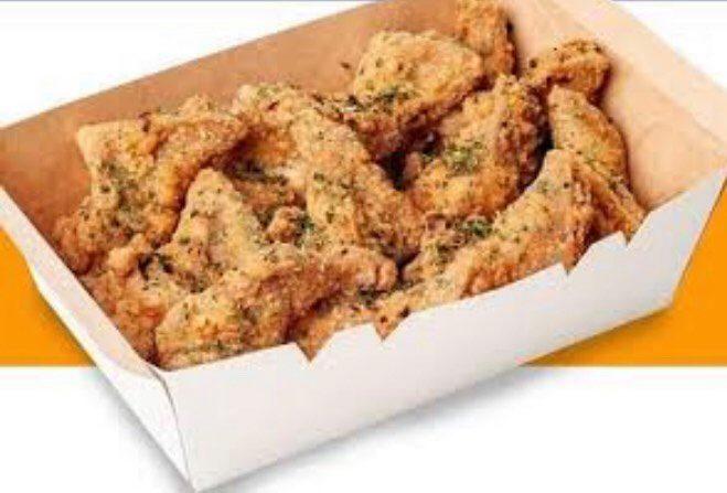 12 Chicken Wings-Garlic Parmesan