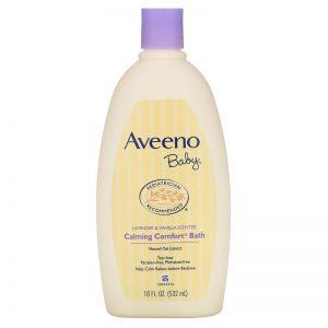 Aveeno Baby Calming Comfort Bath Lavender & Vanilla 532 mL
