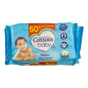 Baby Mild Gentle Wipes-50s