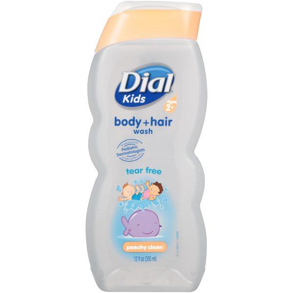 Kids Peachy Clean Hair & Body Wash 354ml