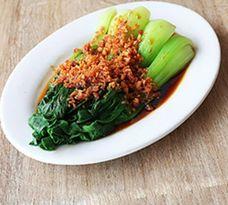 Taiwan Pechay with Garlic