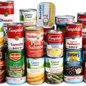 CANNED VEGETABLES & FRUITS
