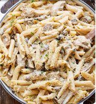 Chicken Mushroom Pasta (Small Bilao)