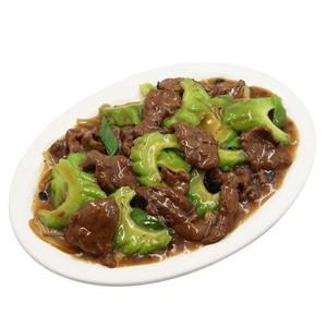 Beef Ampalaya (serves 2-3)
