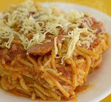 Baked Sphaghetti -Medium (serves 8)