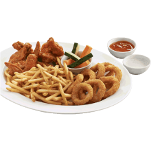 Shakey's Hot Wings and Rings