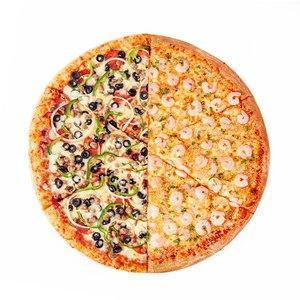 "18"" S&R Combo and Garlic Shrimp Whole Pizza"
