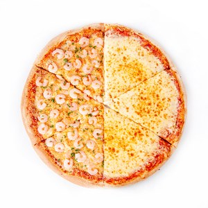 """18"""" S&R Garlic Shrimp and Cheese Whole Pizza"""
