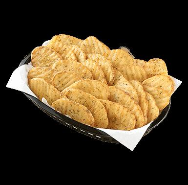 Large Potato Waves + 2 dips